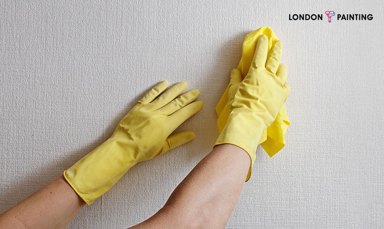 tips to wash your walls without damaging the paint | London Painting | Painter Services in London Ontario